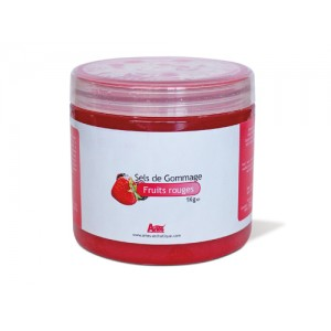 Sel de Gommage Fruits Rouges 1 kg